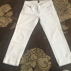 Used white GAP jeans!